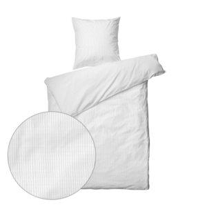 Nano krepp sengetøj . hvid