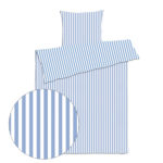 sengetøj skagen lys blå